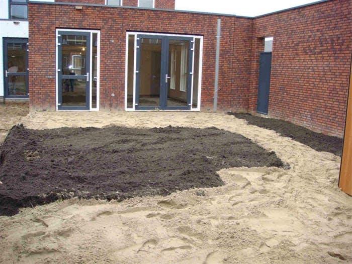 Goedkoop Tuin Aanleggen : Tuin afgraven kosten berekenen hovenier gigant haalt uw tuin leeg