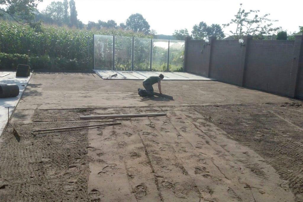 vlak-maken-van-tuin